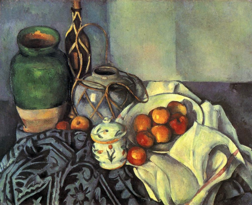 (EN) Paul Cézanne, Still Life with Apples, 1893-1894
